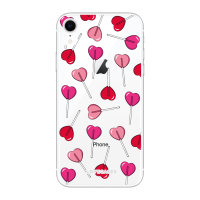 LoveCases iPhone XR Lollypop Clear Phone Case