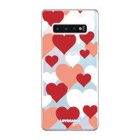 LoveCases Samsung S10 Plus Love Hearts Clear Phone Case