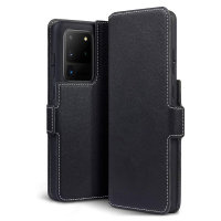 Olixar Slim Genuine Leather Samsung Galaxy S20 Ultra Wallet Case