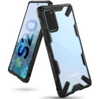 Ringke Fusion X Samsung Galaxy S20 Tough Case - Black