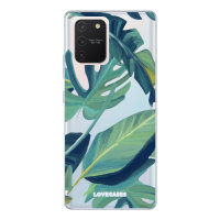 LoveCases Samsung Galaxy S10 Lite Tropical Clear Phone Case