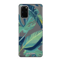 LoveCases S20 Plus Tropical Clear Phone Case