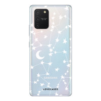 LoveCases Samsung Galaxy S10 Lite Starry Clear Phone Case