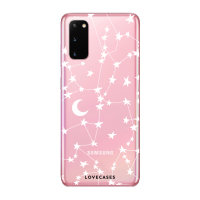 LoveCases Samsung Galaxy S20 Starry Clear Phone Case