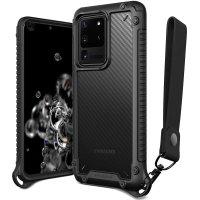 VRS Damda Crystal Mixx Pro Samsung Galaxy S20 Ultra Case -Carbon Black