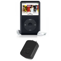 Scosche FlyTunes Apple iPod Classic Bluetooth Adapter Dongle - Black