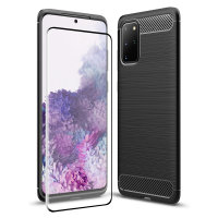 Olixar Sentinel Samsung S20 Plus Case And Glass Screen Protector