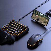 Baseus GAMO Mobile Gaming Keyboard & Mouse Hub - Black