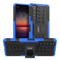 Coque Sony Xperia 1 II Olixar ArmourDillo ultra robuste – Bleu