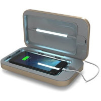 PhoneSoap 3.0 UV Smartphone Sanitizer & Charger - Gold