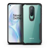 Olixar NovaShield OnePlus 8 Bumper Case - Black