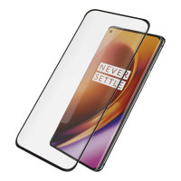 PanzerGlass Case Friendly OnePlus 8 Pro Glass Screen Protector - Black
