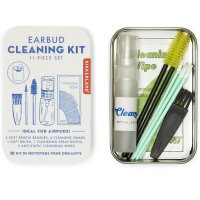 Kikkerland Earbuds Universal Cleaning Kit - 11 Piece Set