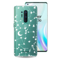 LoveCases OnePlus 8 Pro Starry Deisgn Case - White