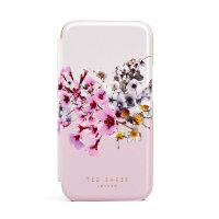 Ted Baker Jasmine iPhone 12 mini Anti-Shock Folio Case - Rose Gold