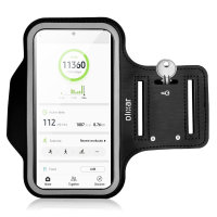 Olixar Running & Fitness Armband Holder for Large Smartphones - Black