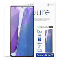 Araree Pure Diamond Samsung Note 20 Tempered Glass Screen Protector