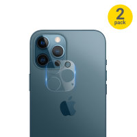 Olixar iPhone 12 Pro Max Tempered Glass Camera Protector - Twin Pack