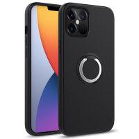 Zizo Revolve Series iPhone 12 Pro Max Thin Ring Case - Black