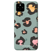 LoveCases Google Pixel 5 Gel Case - Colourful Leopard