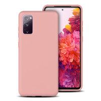 Olixar Samsung Galaxy S20 FE Soft Silicone Case - Pastel Pink
