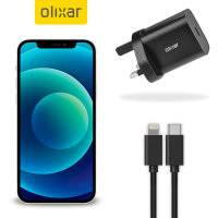 Olixar iPhone 12 mini 18W Fast Mains Charger & USB to Lightning Cable