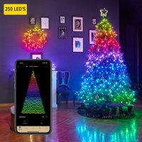 Twinkly Smart RGB 250 LED String Lights Gen II - W / EU Adapter