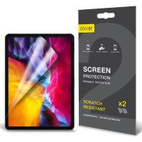 Olixar Apple iPad Air 4 2020 Film Screen Protector 2-in-1 Pack