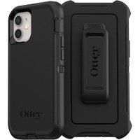 OtterBox Defender iPhone 12 Tough Case - Black