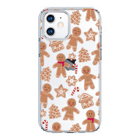 LoveCases iPhone 12 mini Gingerbread Christmas Case - Clear