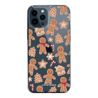LoveCases iPhone 12 Pro Gingerbread Christmas Case - Clear