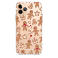 LoveCases iPhone 11 Pro Gingerbread Christmas Case - Clear