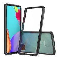 Olixar ExoShield Tough Snap-on Samsung Galaxy A52 Case - Black