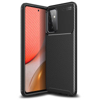 Olixar Carbon Fibre Samsung Galaxy A72 Case - Black