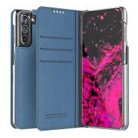 Araree Samsung Galaxy S21 Mustang Diary Wallet Case - Ash Blue