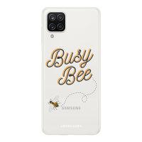 LoveCases Samsung Galaxy A12 Gel Case - Bee Happy