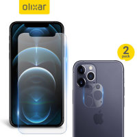 Olixar iPhone 12 Pro Max Screen Protector & 2 Pack Camera Protectors