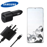 Official Samsung S21 Plus 45W USB-C PD Ultimate Fast Charging Bundle
