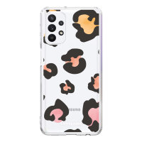LoveCases Samsung Galaxy A32 5G Gel Case - Colourful Leopard