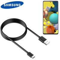 Official Samsung Galaxy A52 USB-C Charge & Sync Cable - 1.2m- Black