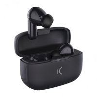 Ksix TrueBuds 2 True Wireless Earphones With Microphone - Black