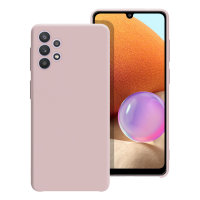 Olixar Soft Silicone Samsung Galaxy A32 Case - Pastel Pink