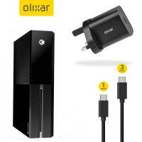 Olixar Xbox One Ultimate Starter Charging Bundle - Black