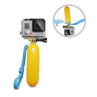 Floating Hand Grip Camera Mount For GoPro - Yellow