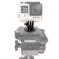 "GoPro Tripod Adapter Mount - 1/4"" Screw - Black"