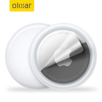 Olixar Apple AirTags Anti-Scratch Film Protector - 2 Pack