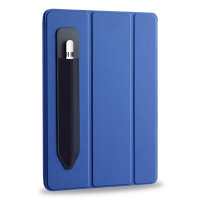 Olixar Apple Pencil 1st Gen. Adhesive Silicone Holder for iPad - Black