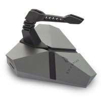 SureFire AXIS Mouse Bungee Multi-Port Hub - Grey