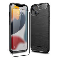 Olixar Sentinel iPhone 13 Case and Glass Screen Protector