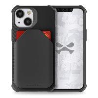 Ghostek Exec 5 iPhone 13 mini Genuine Leather Wallet Case - Black